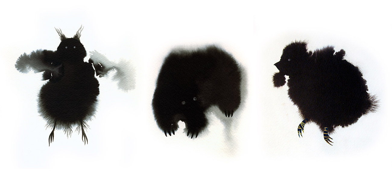 Inkblot Animals