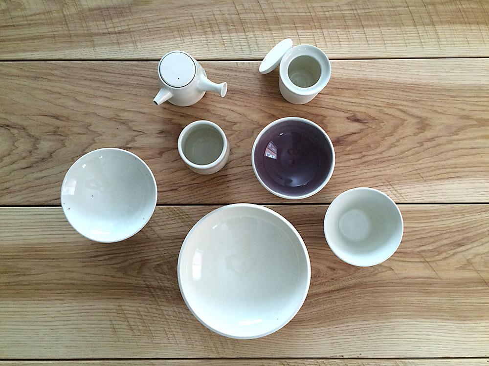 La Datcha's ceramics